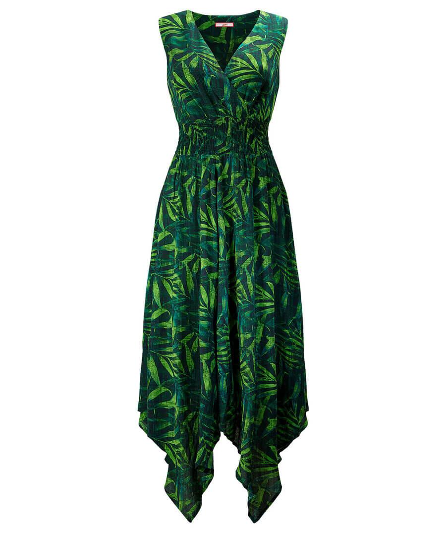 Wowing Palm Leaf Dress