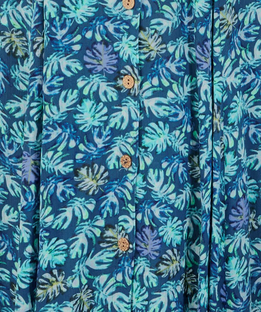 Delicious Palm Print Dress