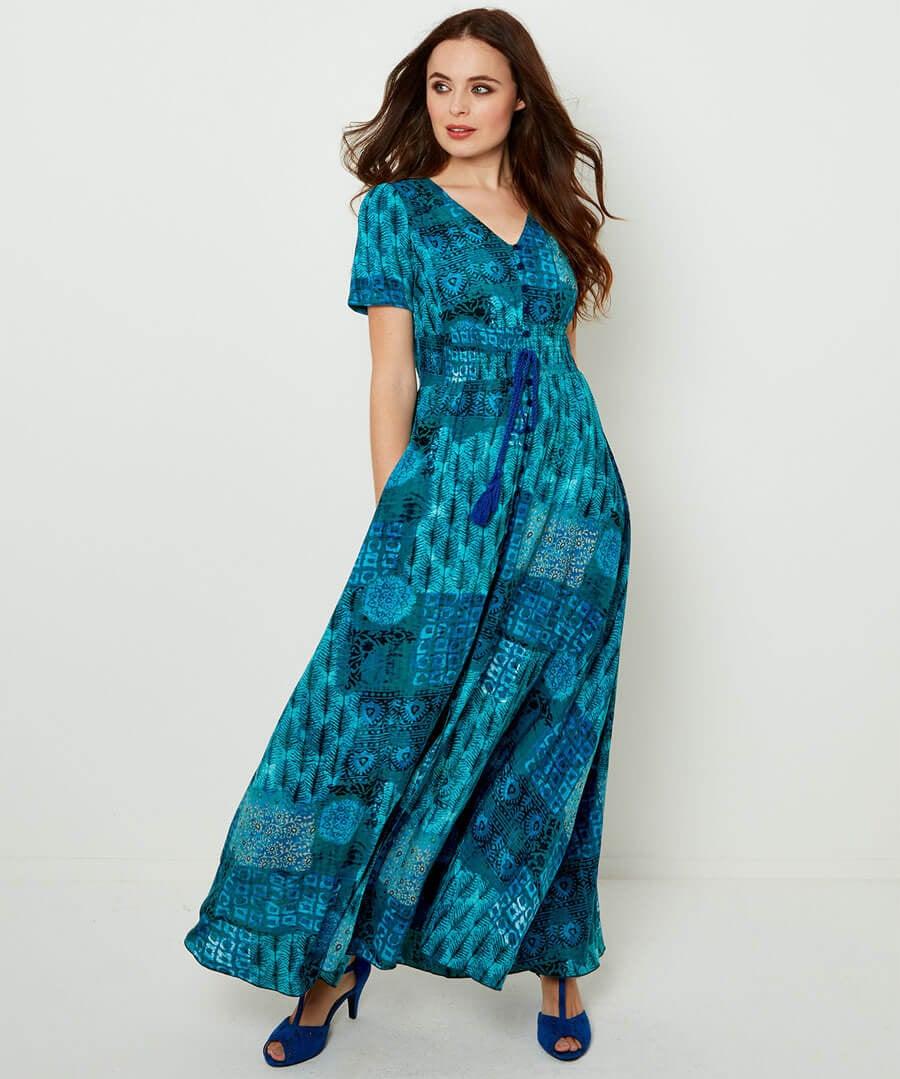 Funky Flattering Dress Model Front