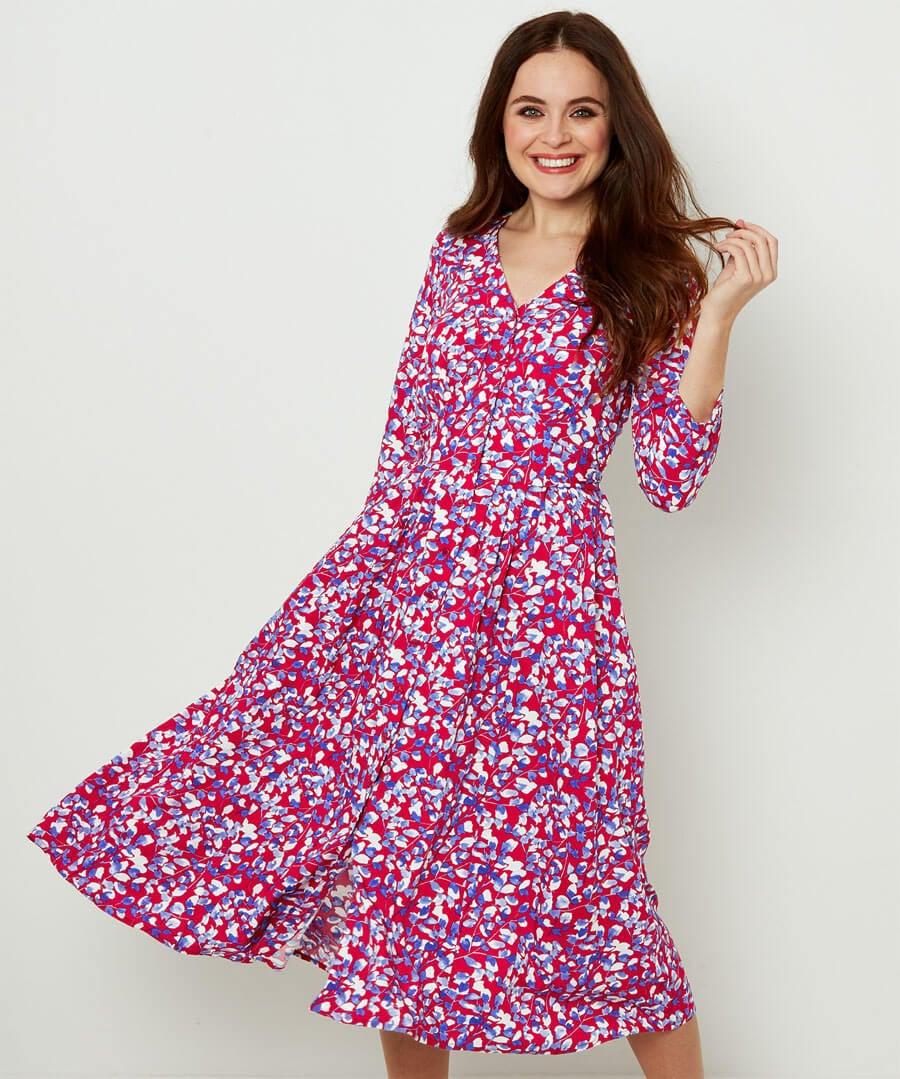 Unique Vintage Dress Model Front