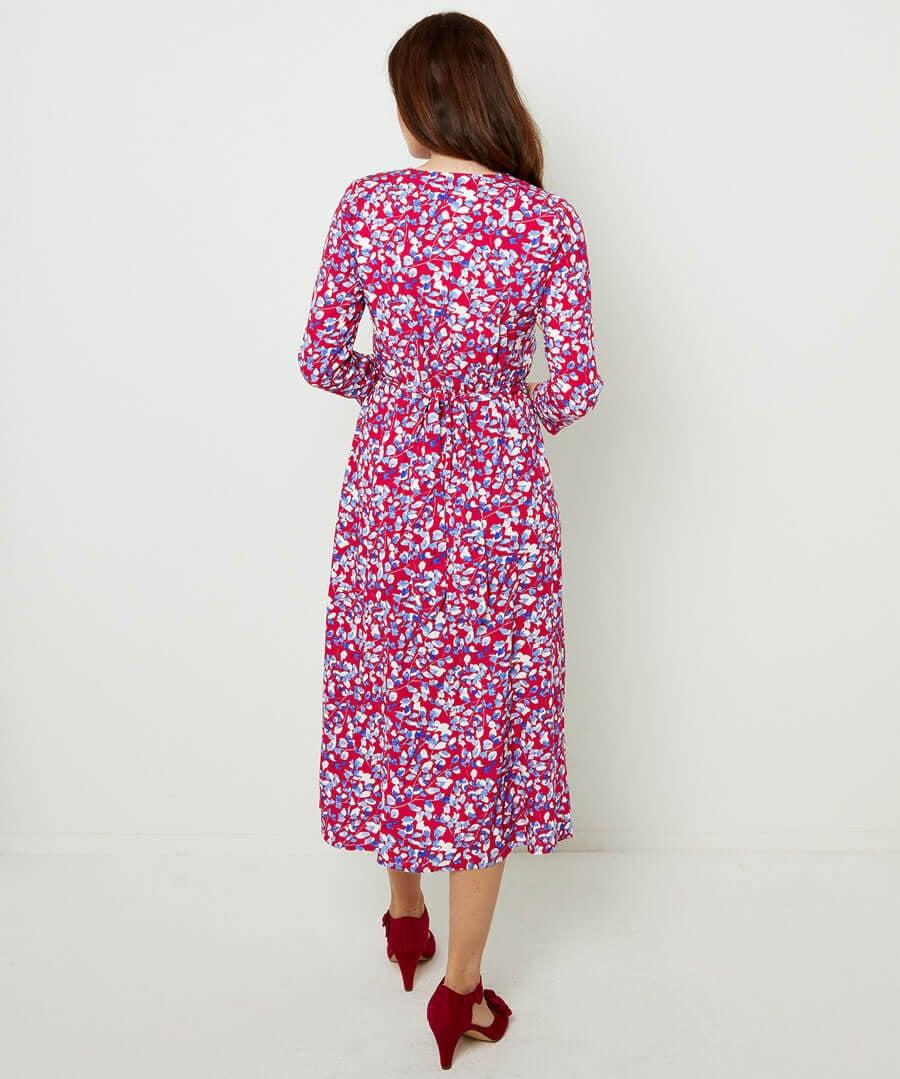 Unique Vintage Dress Model Back