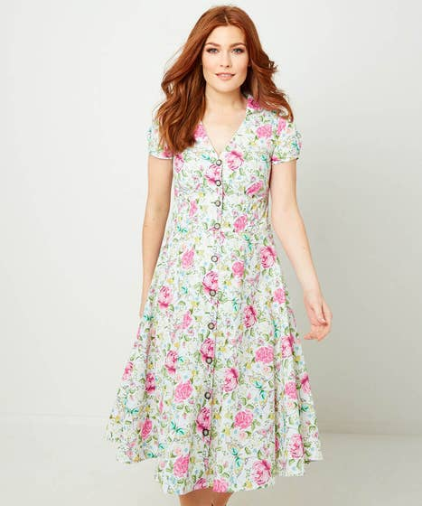 Floral Butterfly Dress