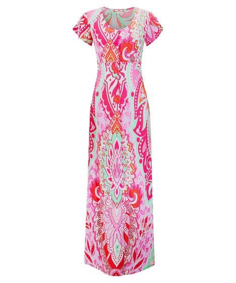 Vivacious Print Dress
