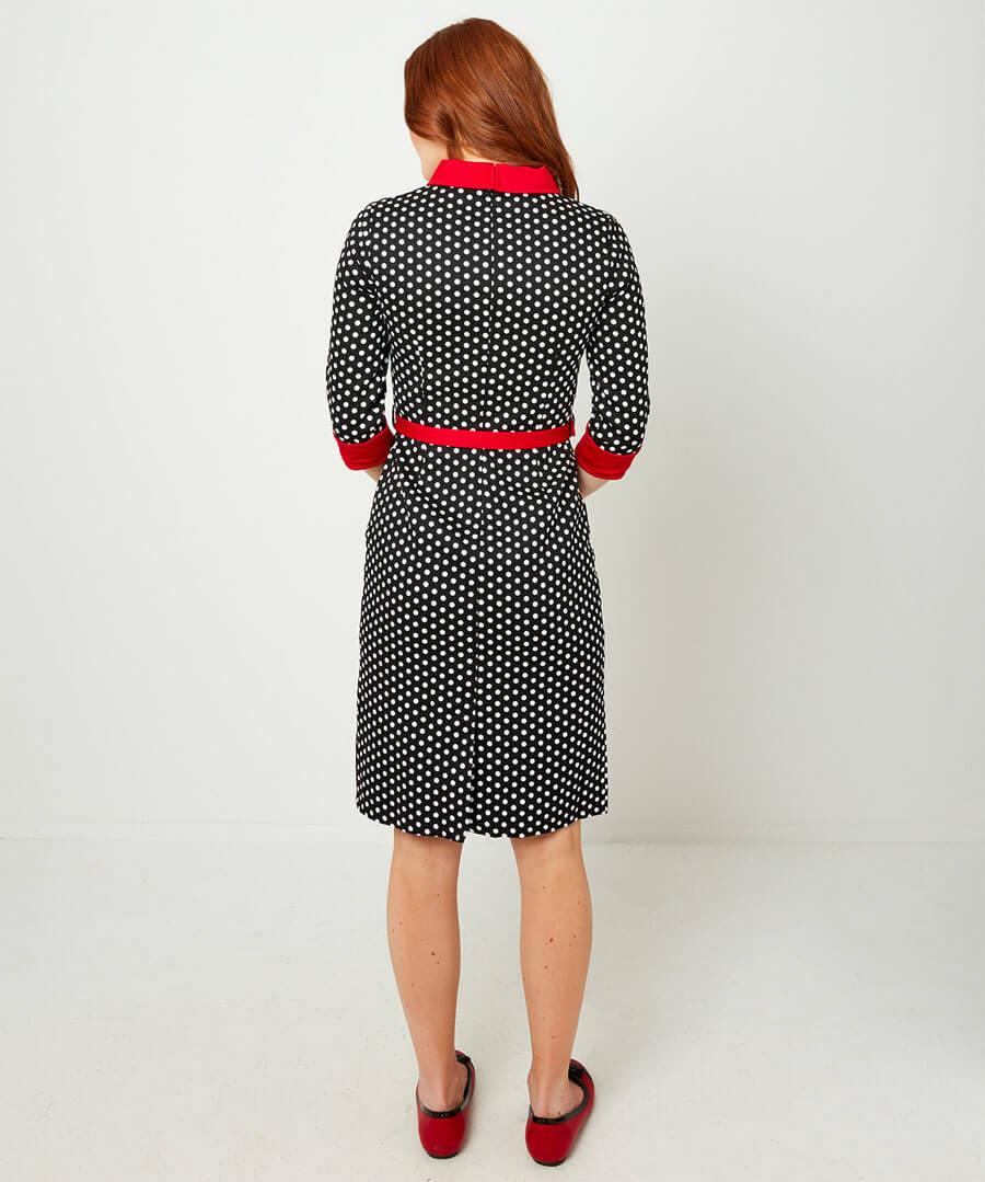 Irresistible Louise Dress Model Back