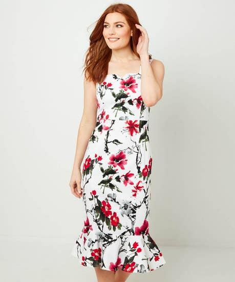 Pretty Peplum Dress