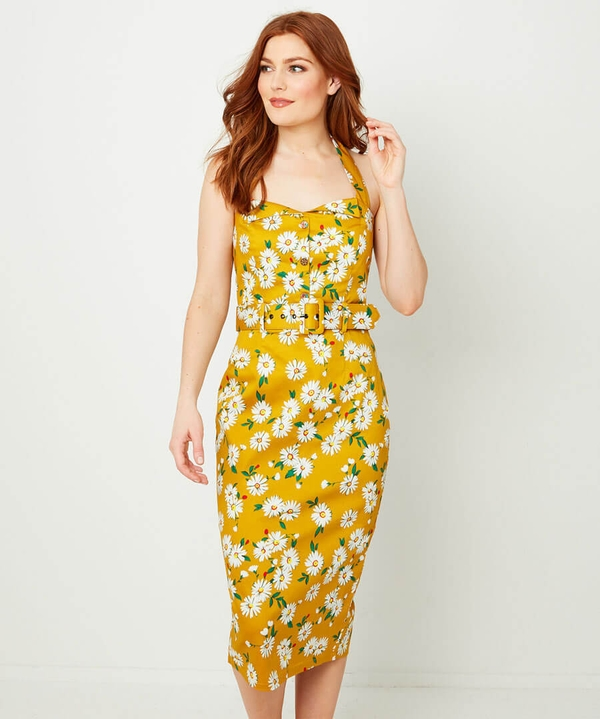 Heavenly Halterneck Dress