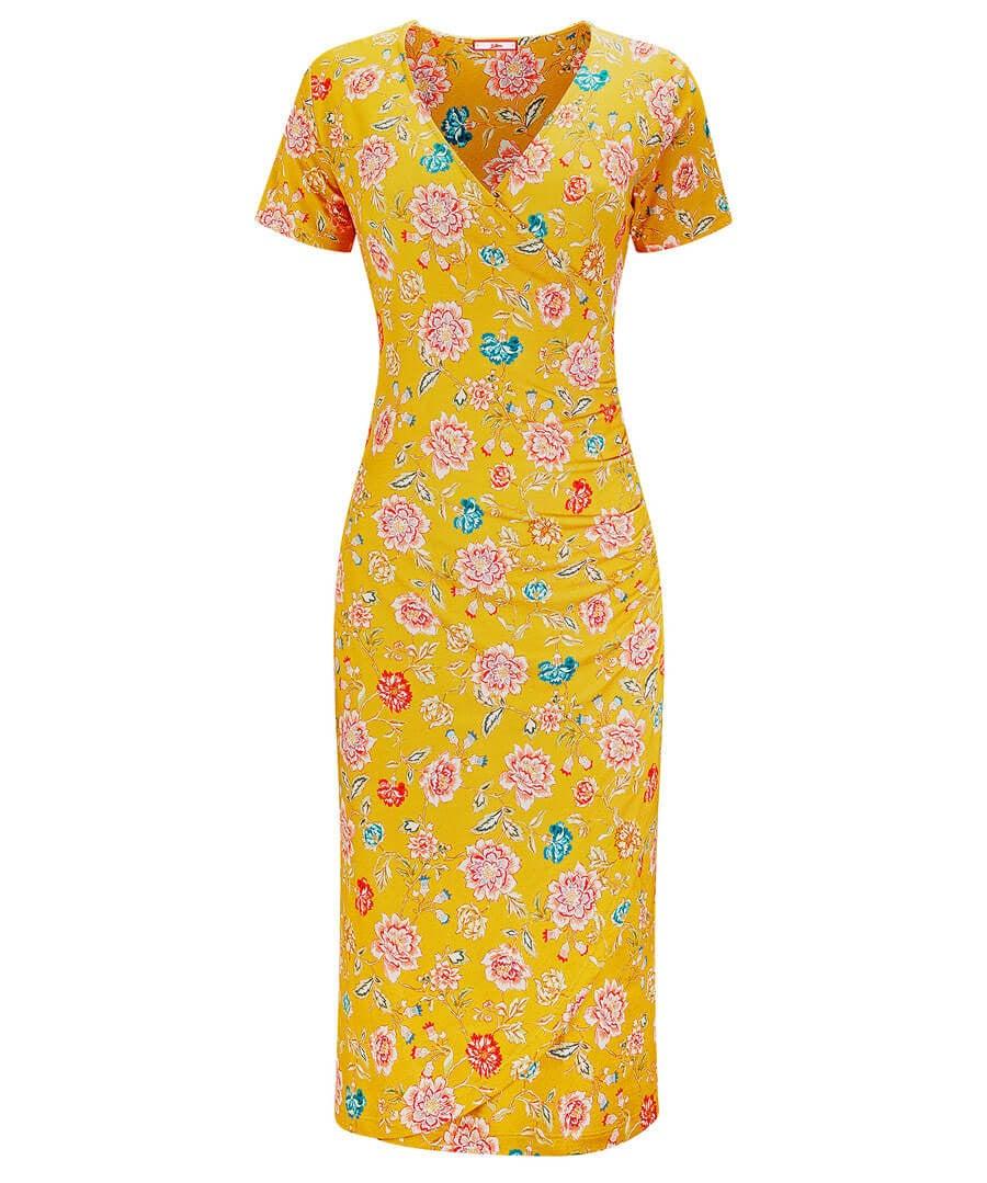 Flirty Flattering Dress Model Front
