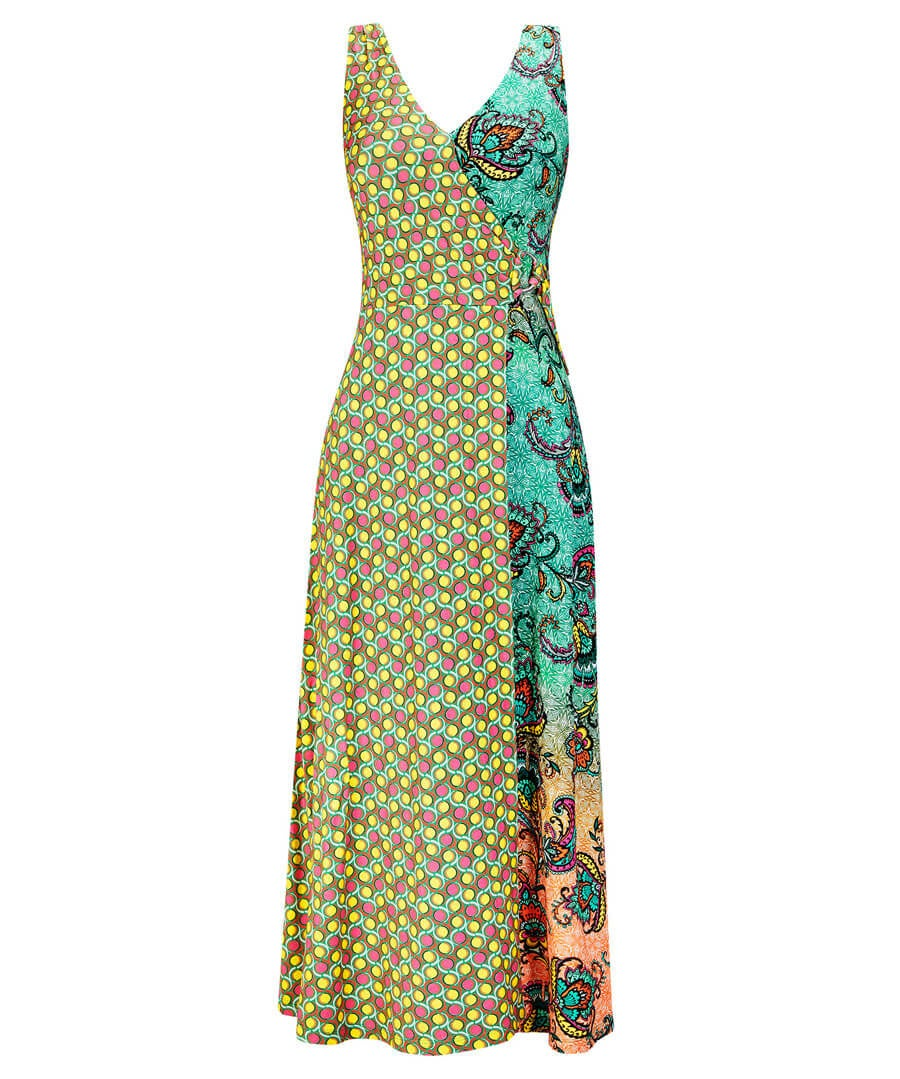 Majestic Mix Up Dress Model Front