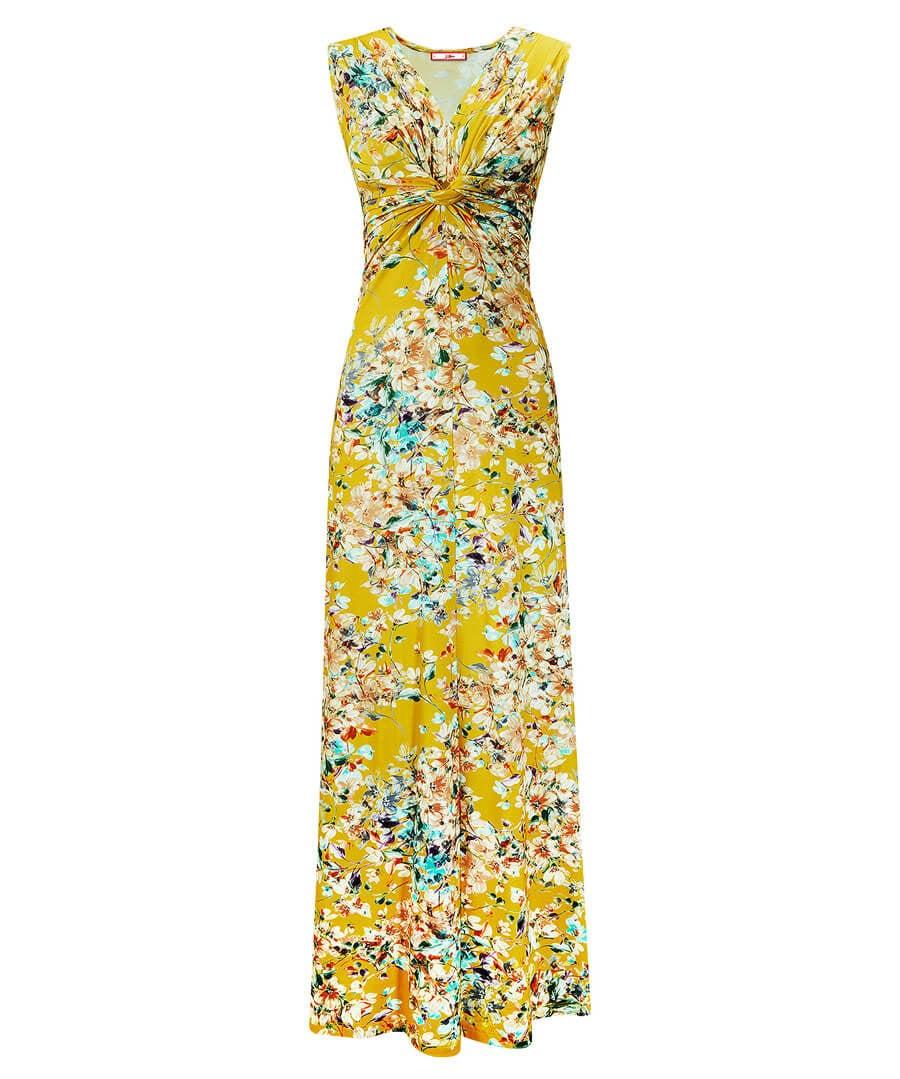 Jersey Maxi Dress Model Front