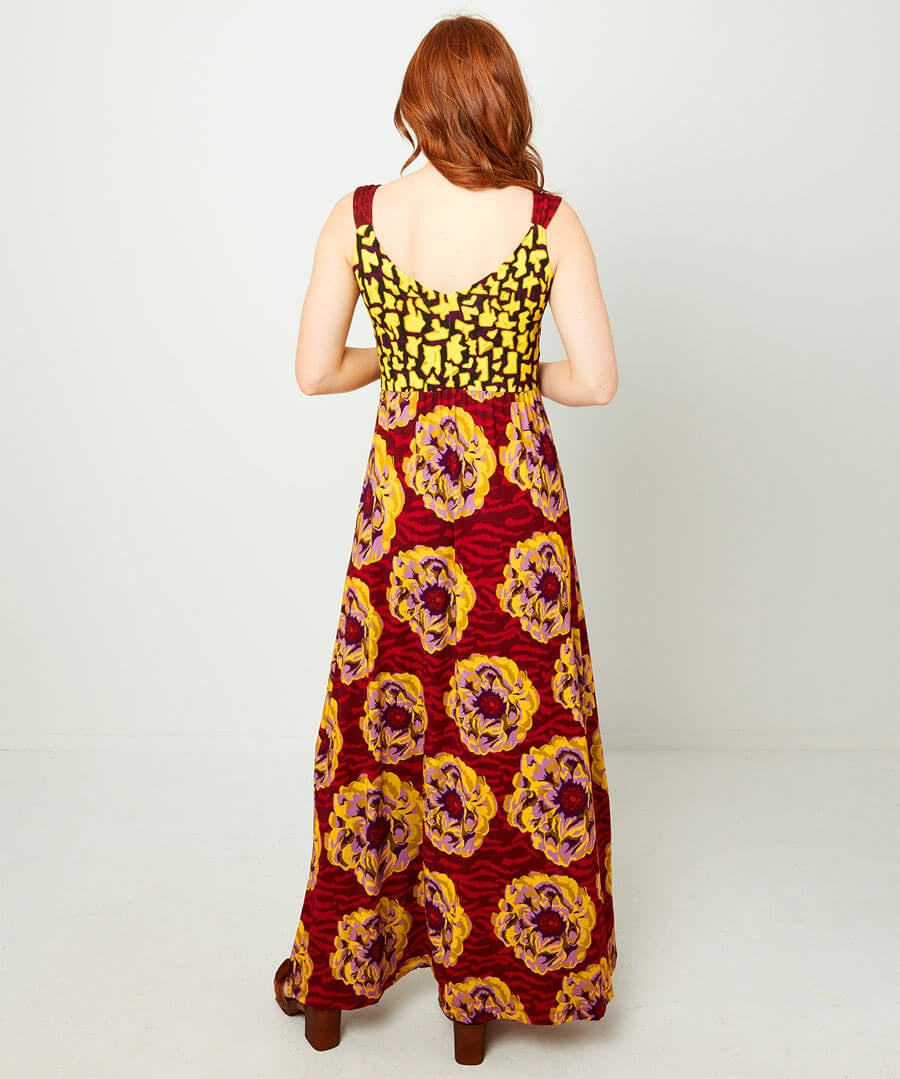 Ultimate Maxi Dress Model Back