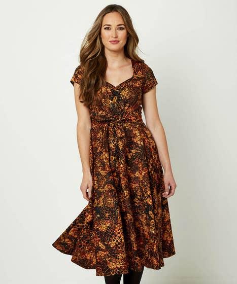 Full Skirt Dress