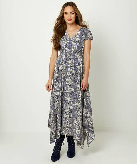 Dippy Hem Dress