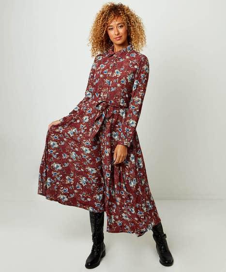 Perfect Printed Shirt Dress