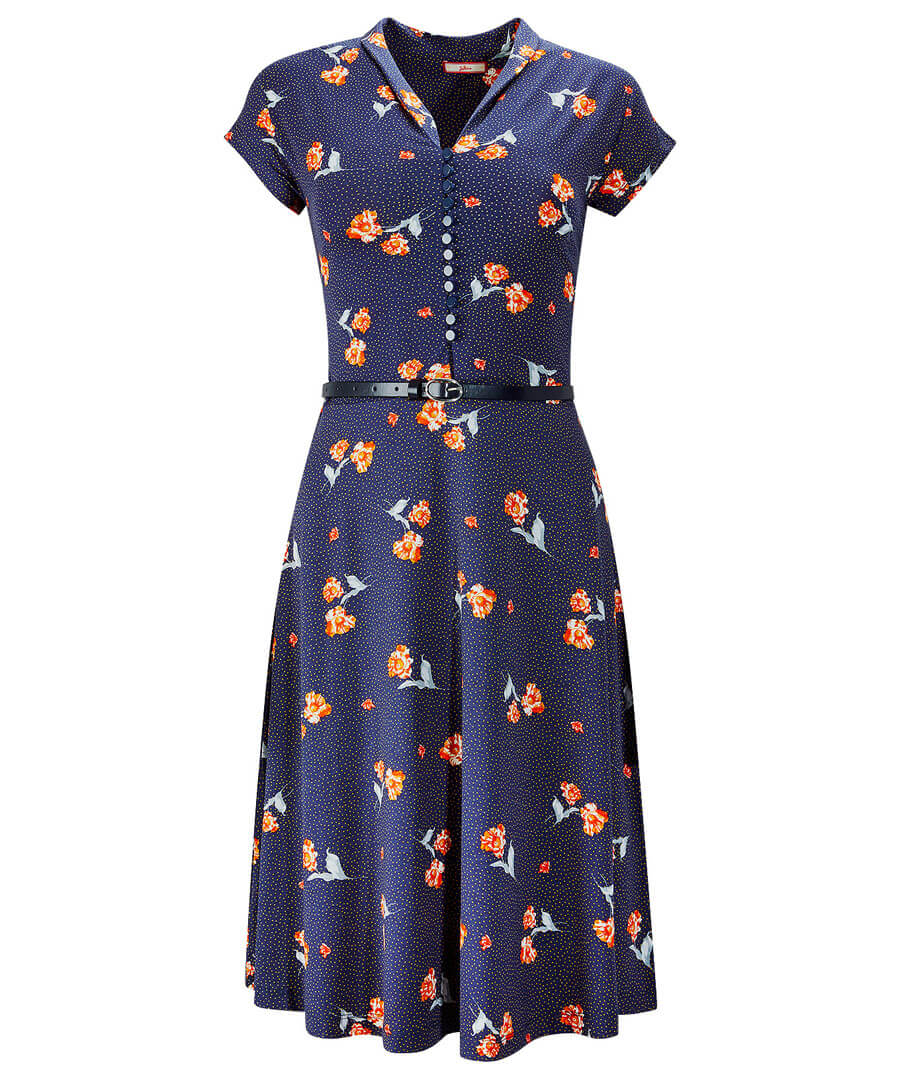 Vintage Style Dresses | Vintage Inspired Dresses Going Dotty Dress $40.00 AT vintagedancer.com