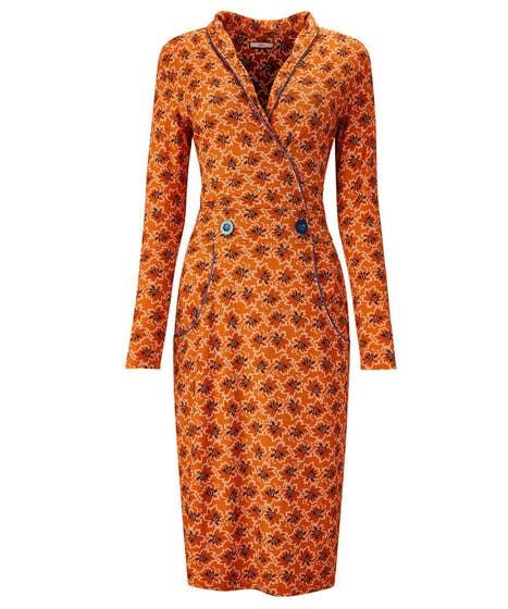 Crafty Collar Dress