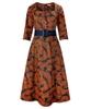 Crisp Leaves Dress