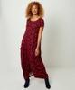 Printed Ovoid Dress