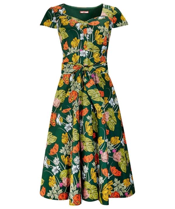 Fancy Full Skirt Dress