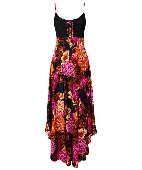 Vibrant Strappy Dress