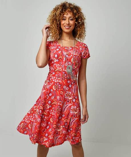 Lovely Crinkle Dress