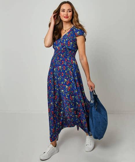 Beautiful Bird Print Dress