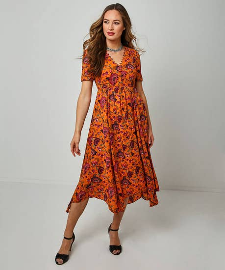 Exquisite Print Dress