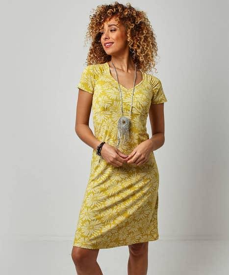Flattering Wrap Look Dress