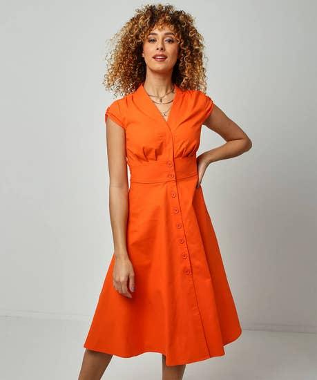 Linen Mix Dress