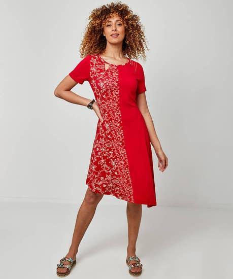 Funky Jersey Dress
