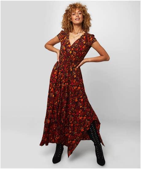 Beautiful Autumnal Dress