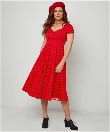 Sassy Spot Dress