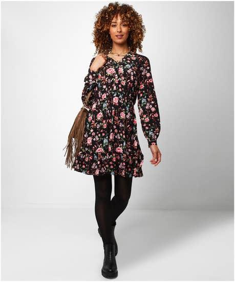 Ravishing Roses Dress
