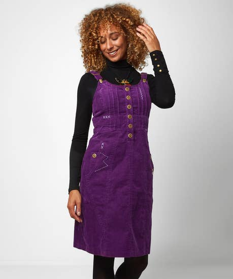 Confident Cord Dress