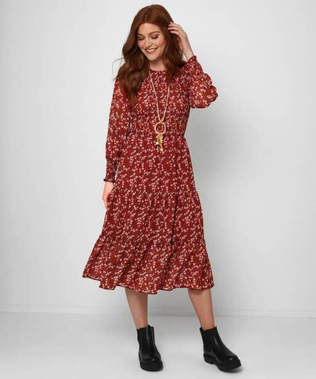 Dare To Be Different Ditsy Dress