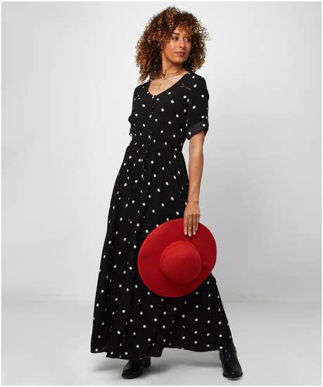 Pretty Polka Dress