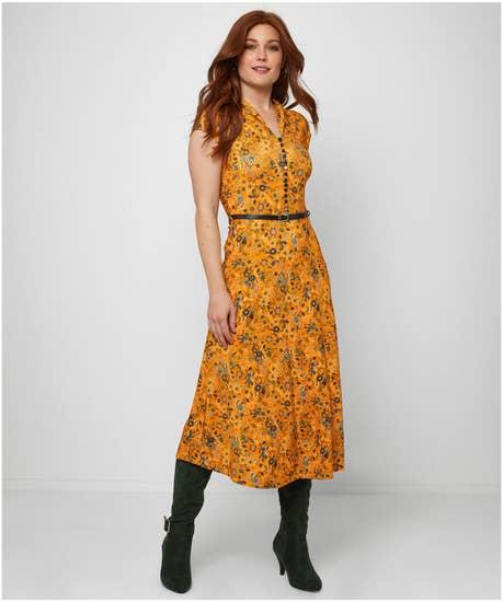 Vintage Valerie Belted Dress