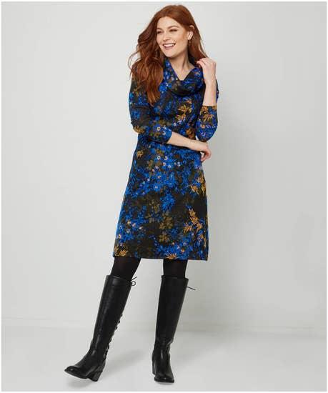 Luxurious Jacquard Dress