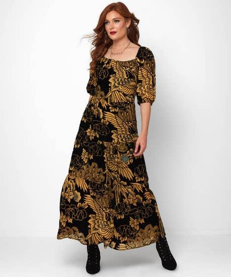 Stunning Devore Dress