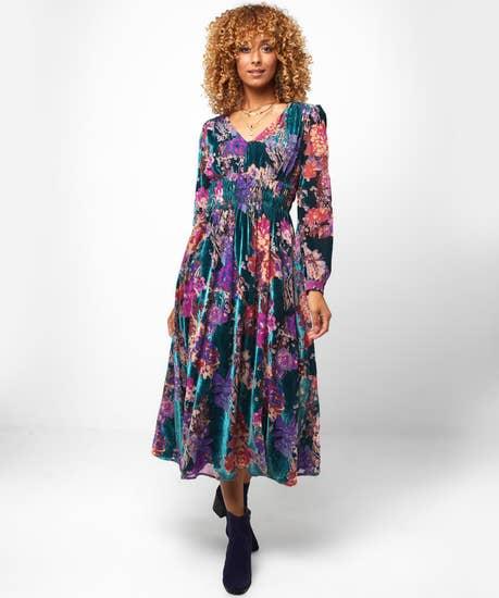 Devore Delight Dress