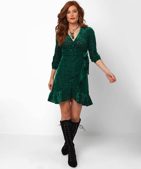 Dreamy Devore Dress