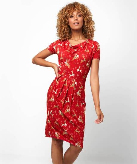 Ravishing Reindeer Dress