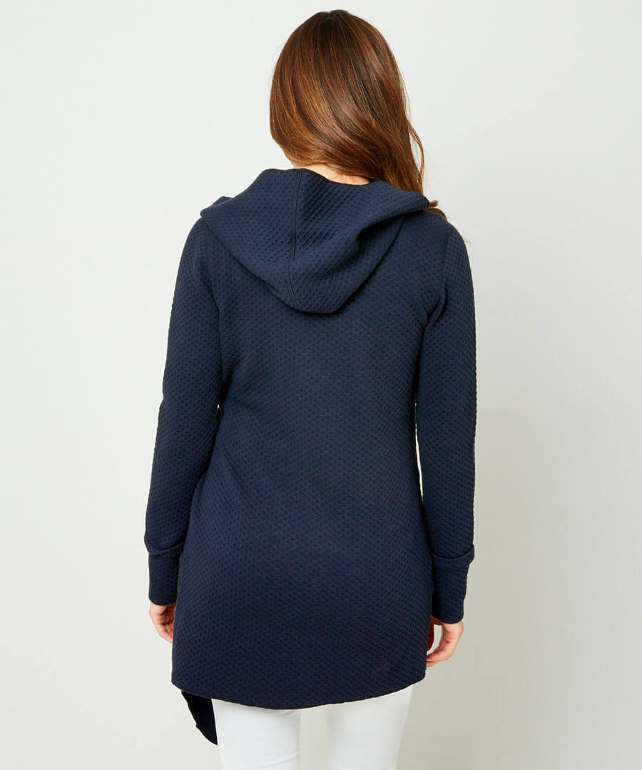 Easy Wearing Hoody Model Back