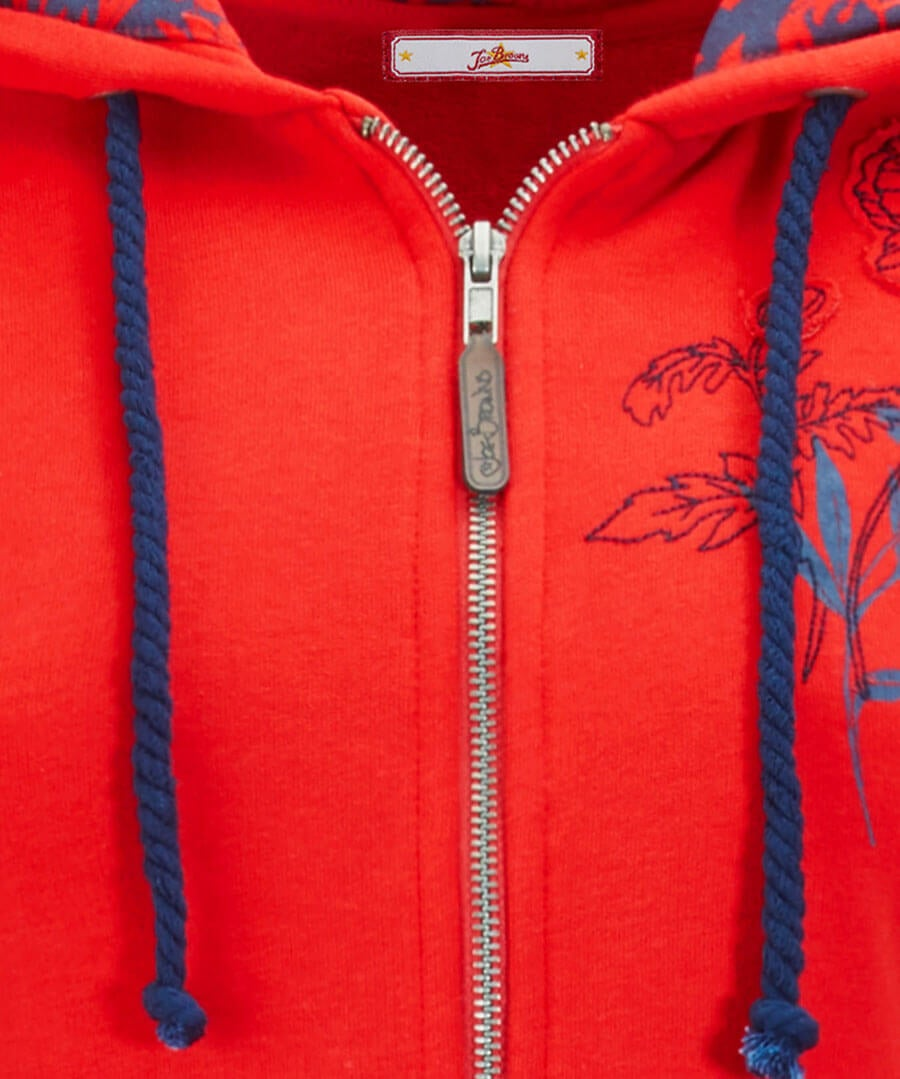 Embroidered Hoody Back