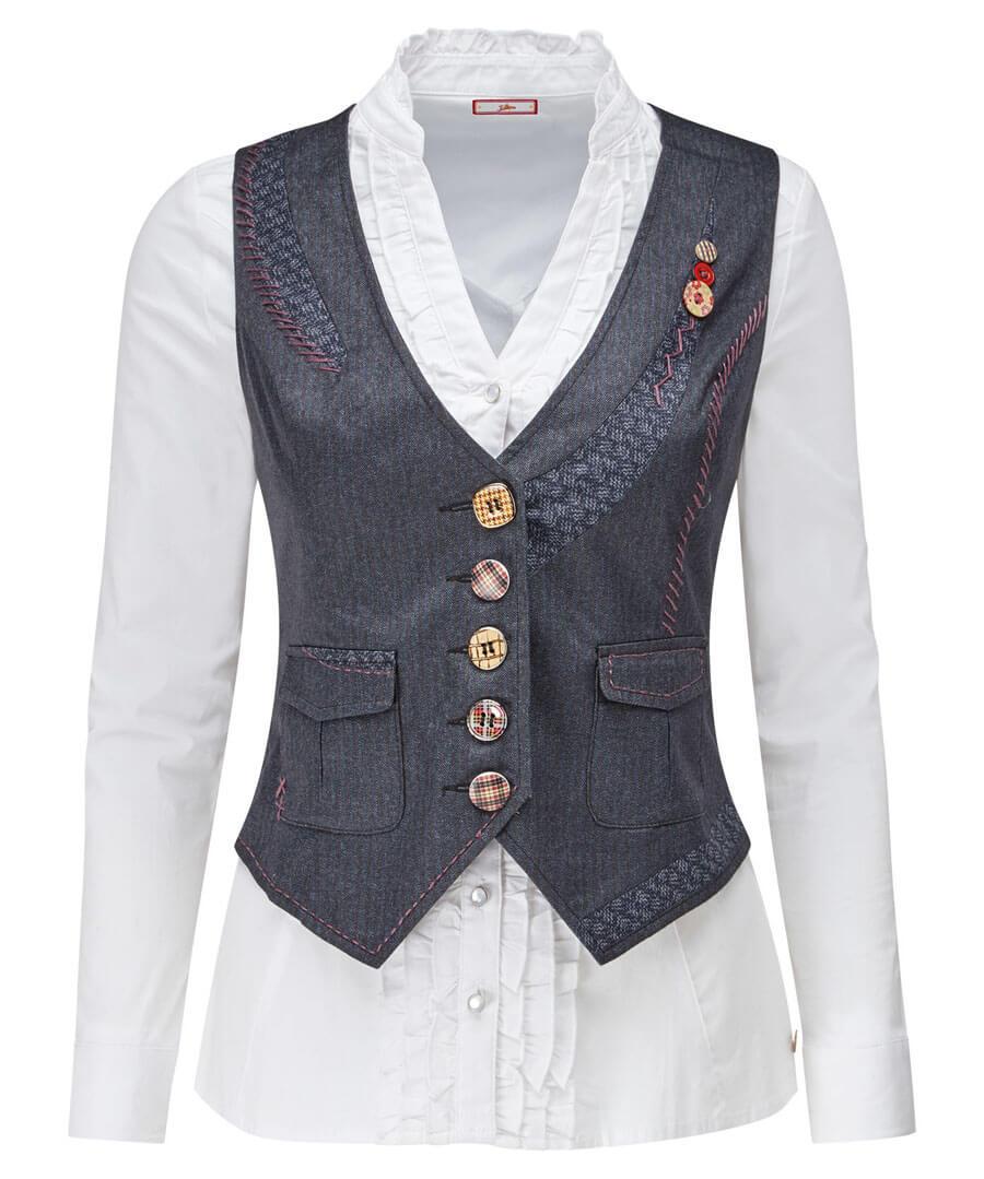 Perfect Pinstripe Waistcoat