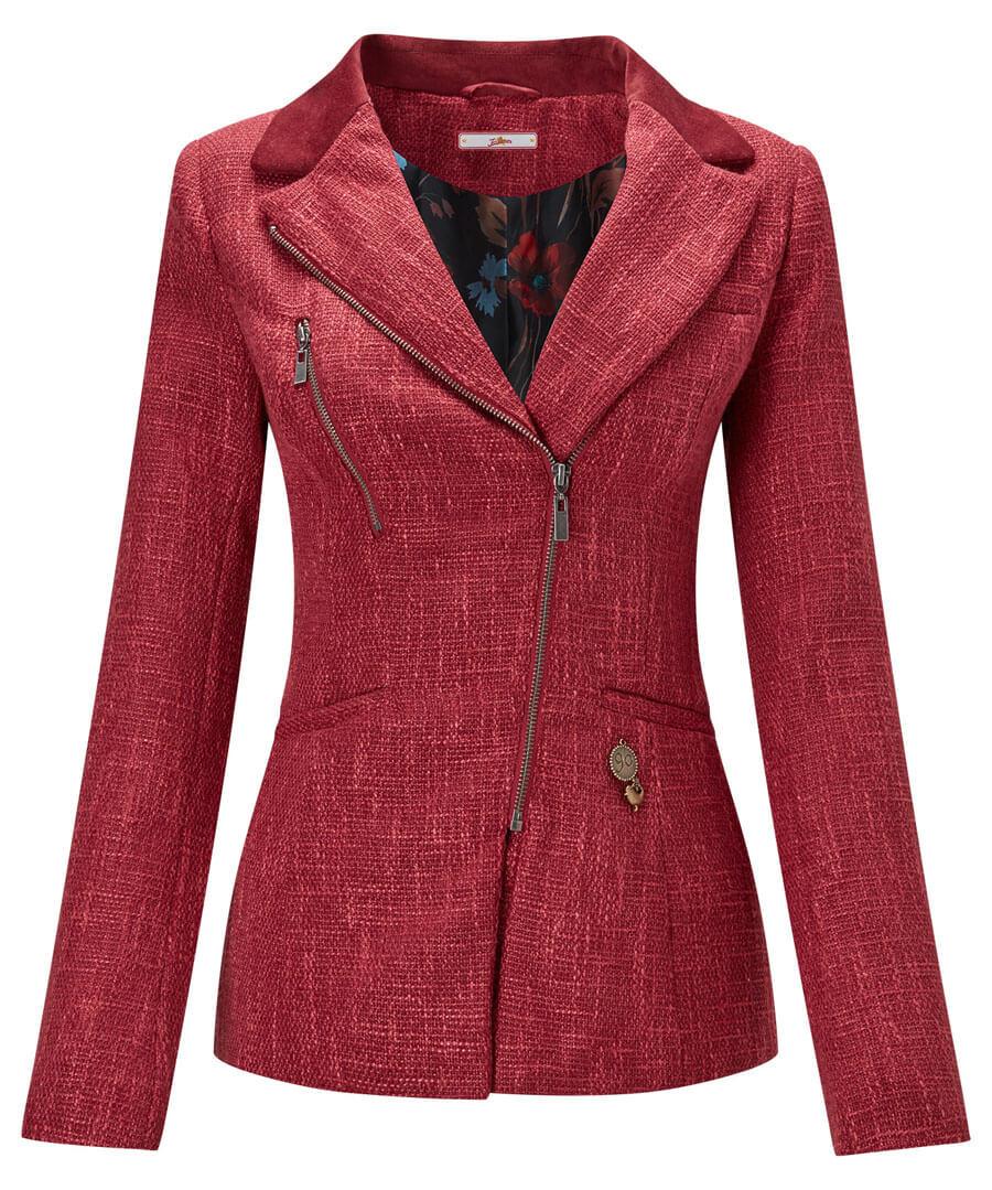 Zealous Zip Jacket Model Front