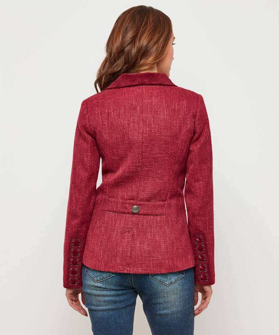 Zealous Zip Jacket Model Back