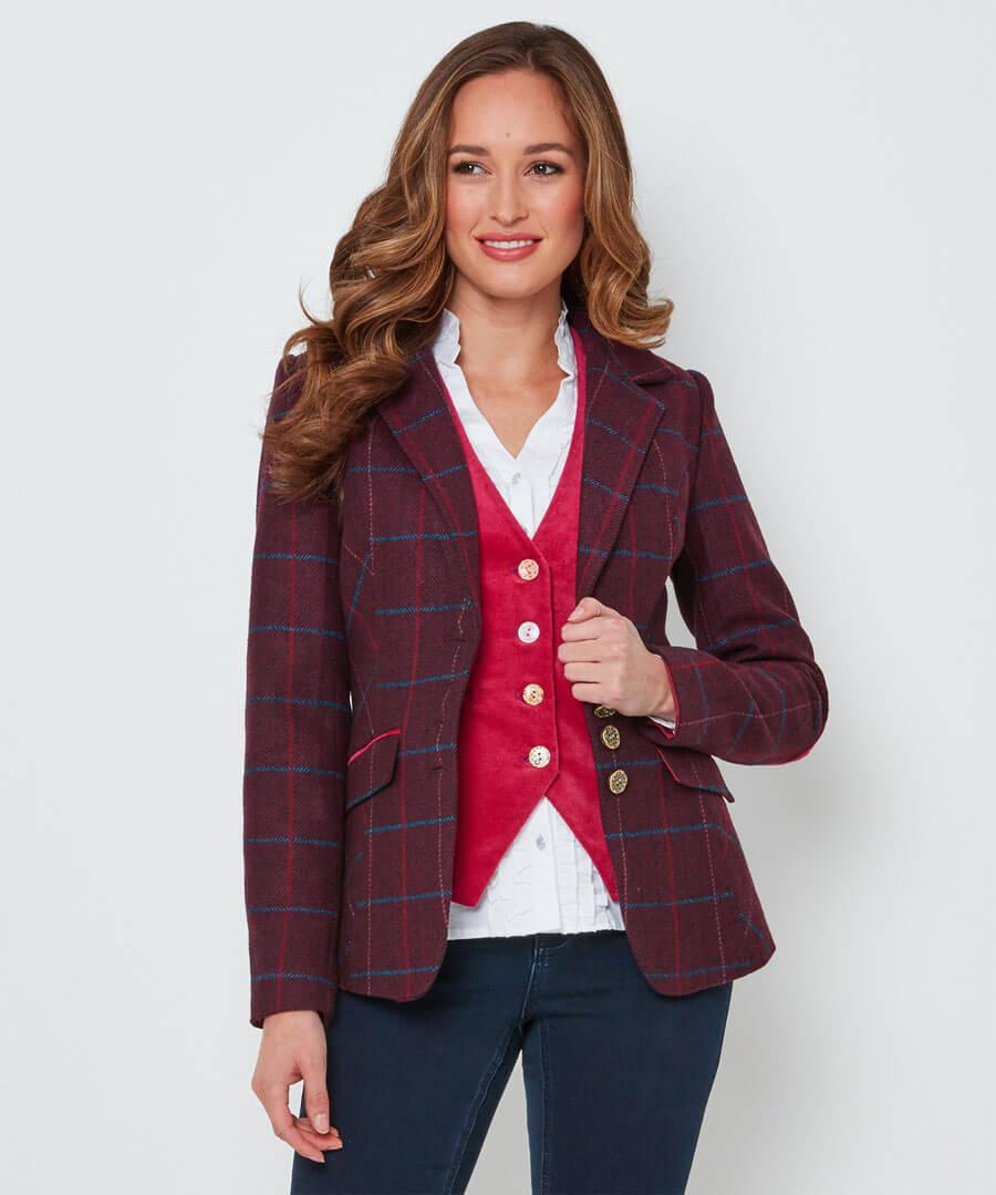 Stunning Check Jacket