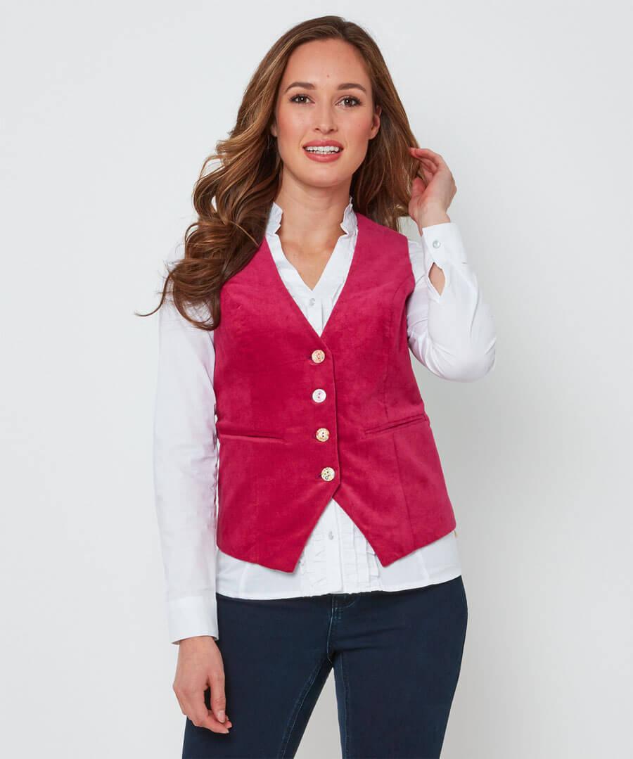 Stunning Pink Waistcoat