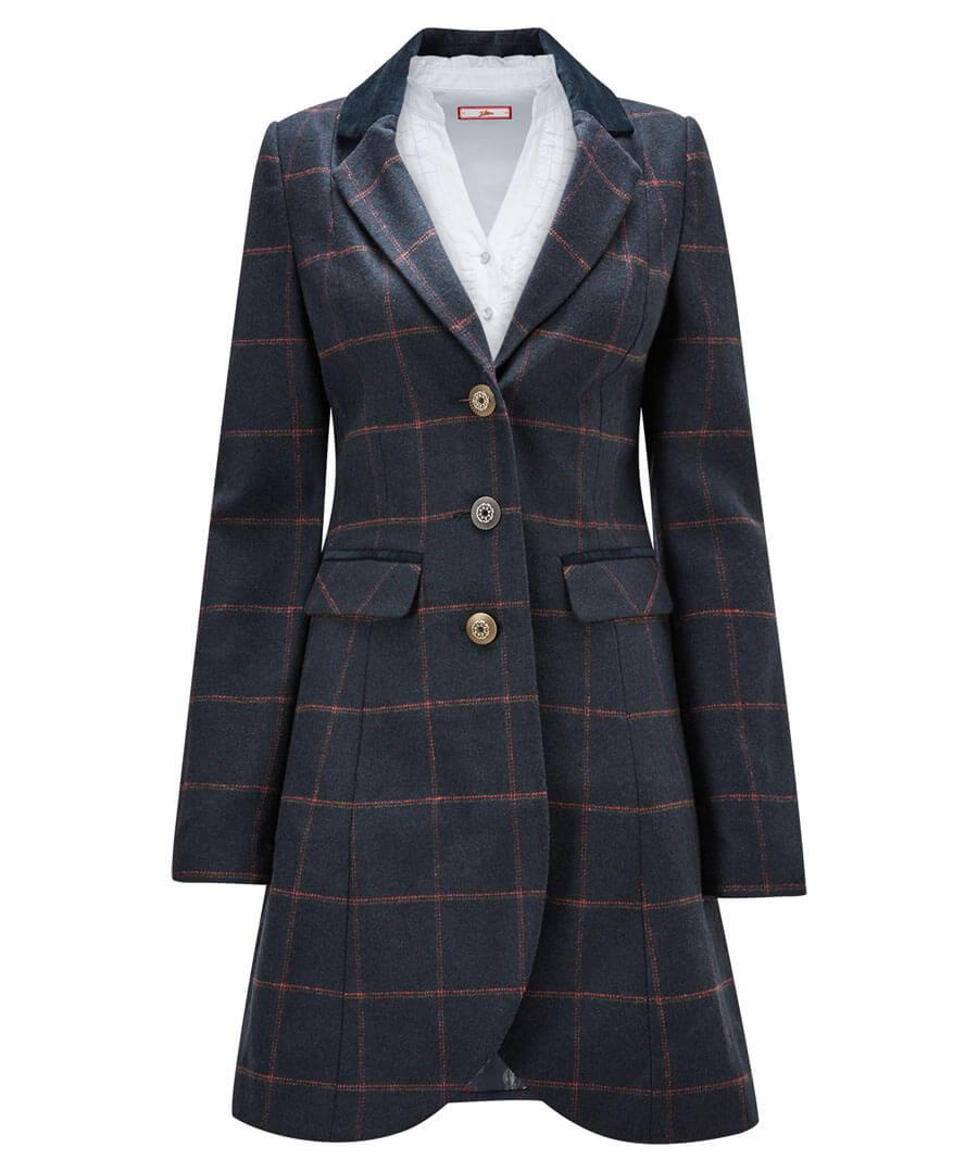 Vintage Coats & Jackets | Retro Coats and Jackets Hennessey Longline Jacket $80.00 AT vintagedancer.com