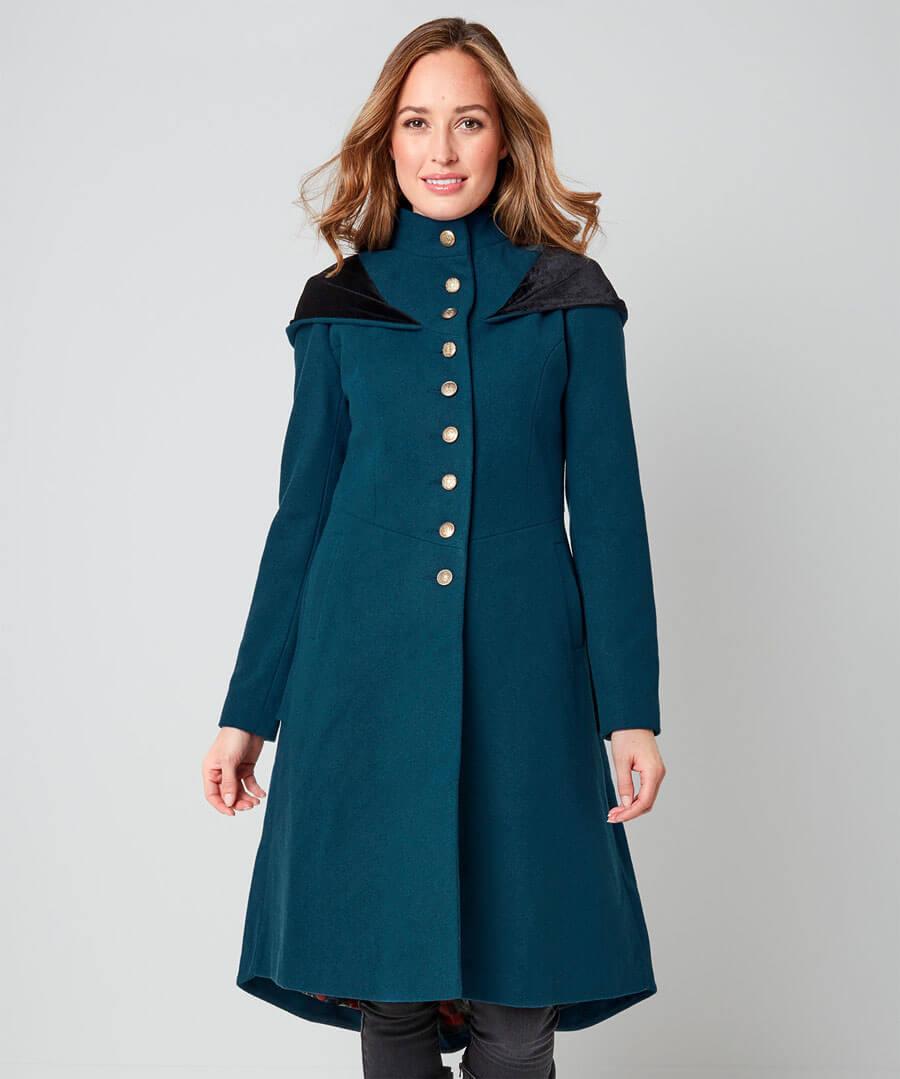 Wonderful Winter Coat Model Front